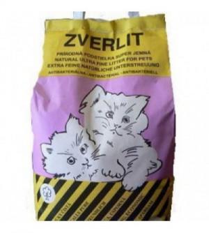Zverlit Extra smulkus bentonitinis kraikas katėms