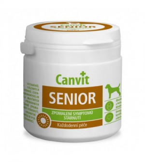 Canvit Senior tabletės šunims 100g