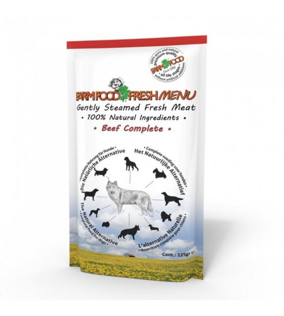 Farm Food Fresh Menu šviežios jautienos konservai