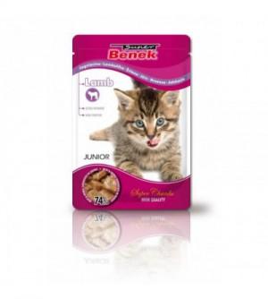 Super benek kitten Lamb pouch