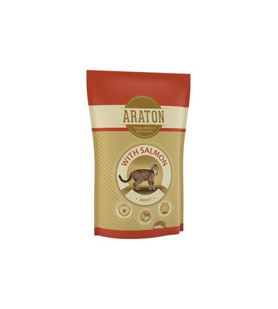 Araton Cat Adult Chicken & Salmon sausas maistas katėms