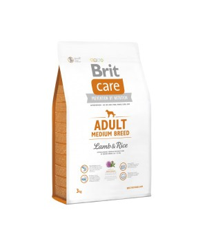 Brit Care Adult Medium Breed Lamb & Rice sausas maistas šunims