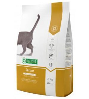 Natures Protection Senior sausas maistas katėms