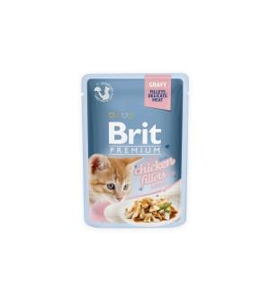 BRIT PREMIUM Cat Delicate Kitten konservai katėms 85g