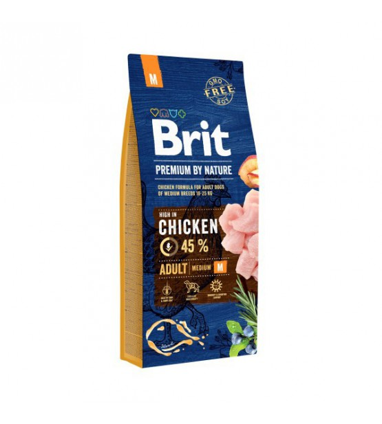 Brit Adult M sausas maistas šunims