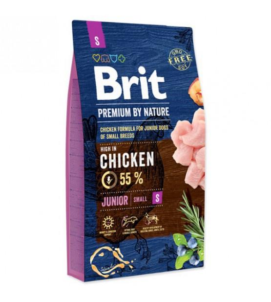 Brit Junior S sausas maistas šunims