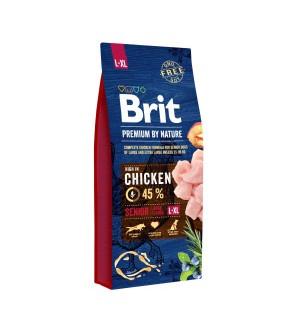Brit Premium BY NATURE Senior L/XL sausas maistas šunims