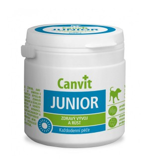 Canvit Junior šunims N100 100g