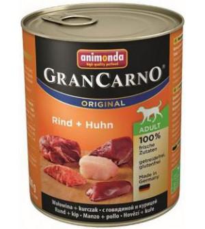 Gran Carno Adult  konservai šunims su jautiena ir vištiena