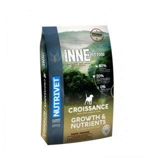 Nutrivet Inne Growth & Nutrients sausas maistas šunims