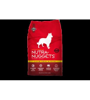 Nutra Nuggets Lamb & Rice sausas maistas šunims