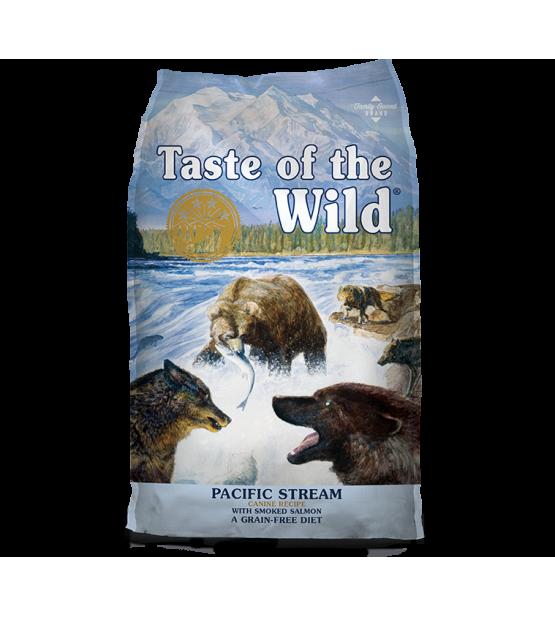 Taste of the Wild Canine Pacific Stream sausas maistas šunims