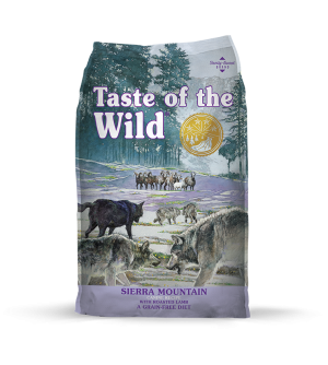 Taste of the Wild Canine Sierra Mountain