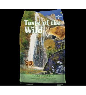 Taste of the Wild Feline Rocky Mountain sausas maistas katėms