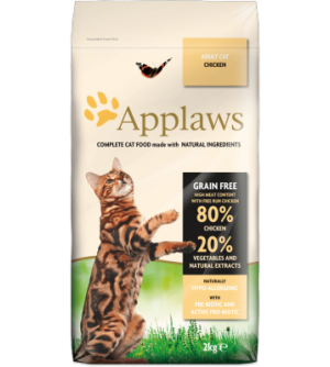 Applaws Cat Adult Chicken sausas maistas katėms