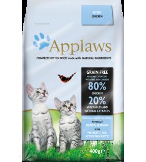 Applaws Kitten Chicken sausas maistas katėms