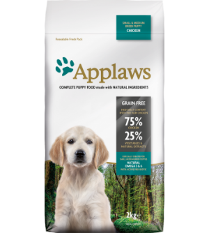 Applaws Puppy Small & Medium sausas maistas šunims