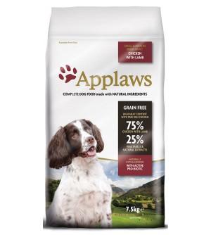 Applaws Dog Adult Small & Medium with Chicken & Lamb sausas maistas šunims
