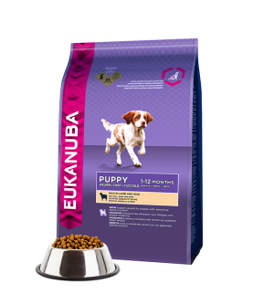 Eukanuba Puppy &amp Junior All Breed Lamb &amp Rice