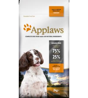 Applaws Dog Adult Small & Medium With Chicken sausas maistas šunims