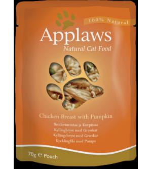 Applaws Cat Chicken Breast & Pumpkin pouch konservai katėms