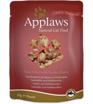 Applaws Cat Tuna Fillet &amp Pacific Prawn pouch