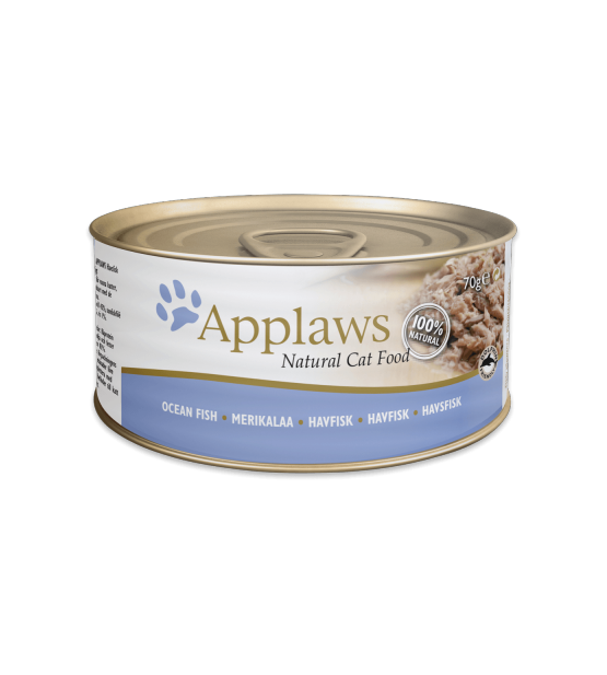 Konservai Applaws Cat Oceanfish konservai katėms