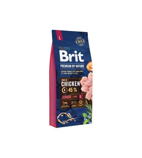 Brit Junior L sausas maistas šunims