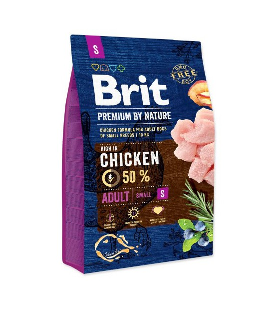 Brit Adult S sausas maistas šunims