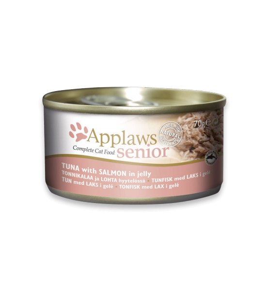 Konservai Applaws Cat Senior Tuna with Salmon in jelly