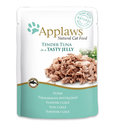 Applaws Cat Tuna pouch in jelly
