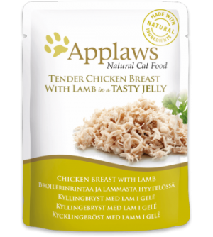 Applaws Cat Chicken with Lamb pouch in jelly