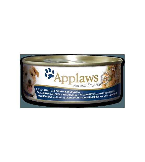 Konservai Applaws Dog Chicken Breast, Salmon