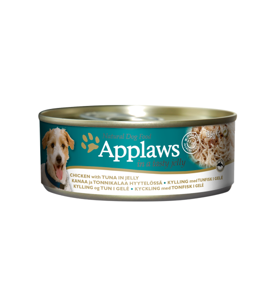 Konservai Applaws Dog Chicken with Tuna in jelly