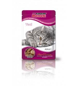 Super Benek Veal pouch konservai katėms