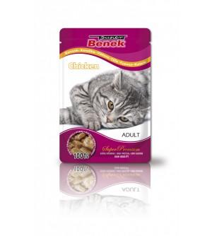 Super Benek Chicken pouch konservai katėms