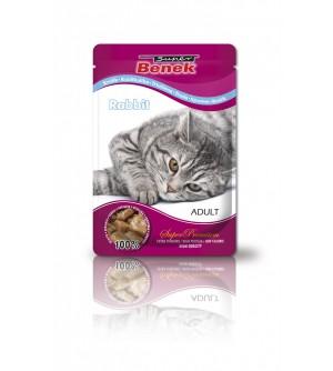 Super Benek Rabbit pouch konservai katėms