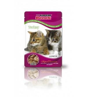 Super Benek Kitten Turkey pouch konservai katėms