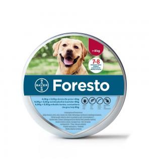 Foresto antkaklis nuo parazitų šunims virš 8 kg svorio