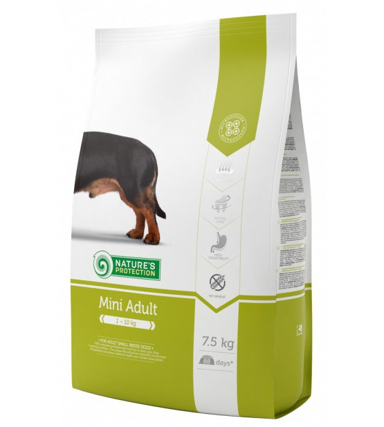 Natures Protection Mini Adult sausas maistas šunims
