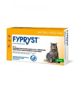 Fypryst užlašinamasis tirpalas katėms nuo erkių ir blusų (1 vnt.)