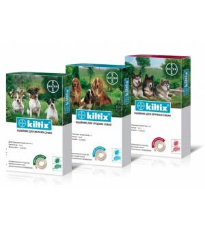 KILTIX antkaklis nuo parazitų šunims