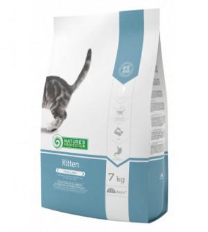 Natures Protection Kitten sausas maistas katėms