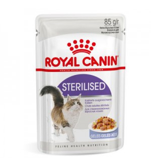 Royal Canin Sterilised in Jelly pouch