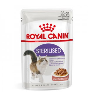 Royal Canin Sterilised in Gravy pouch