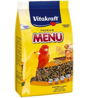 Vitakraft Menu Vital Honey visavertis kanarėlių lesalas