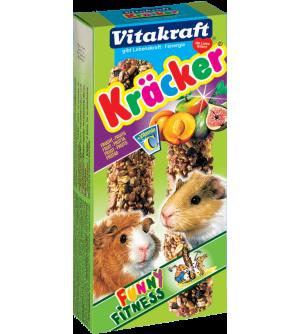 Vitakraft Kracker Jūrų kiaulyčių gardėsis su vaisiais