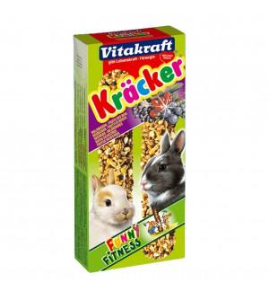 Vitakraft Kracker Triušių gardėsiai su miško ir šeivamedžio uogomis