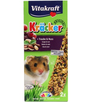 Vitakraft Kracker Žiurkėnų gardėsis su riešutais ir razinomis