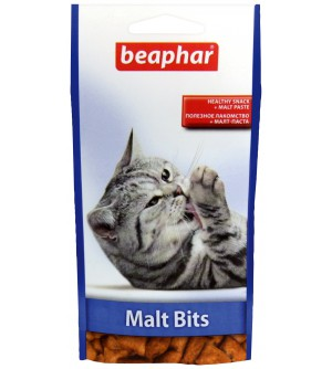 Beaphar Malt Bits Kačių skanėstai su Malt pasta